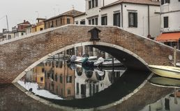 Chioggia, près de Venise Images stock