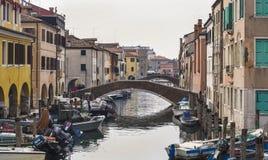 Chioggia, près de Venise Image libre de droits