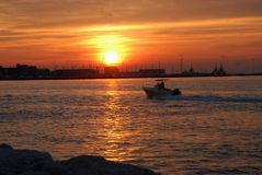 Chioggia in the province of Venice Royalty Free Stock Photos