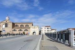 Chioggia, Venedig, Italien, Europa Historische Mitte von Chioggia Alte Stadt von Chioggia in Italien Stockbild