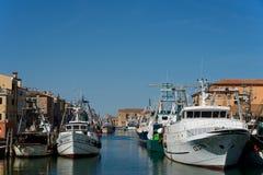 Chioggia Veneza Itália pouco paraíso foto de stock