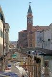 Chioggia Veneza Itália pouco paraíso fotos de stock