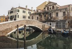 Chioggia, vicino a Venezia Fotografie Stock Libere da Diritti