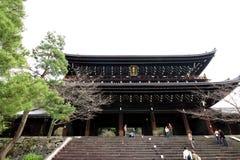 Chion-en el templo Imagen de archivo