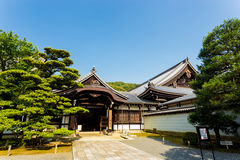 Chion-Im Tempel-Seiteneingangs-Weg Kyoto H stockfotos