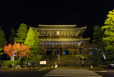 Chion-in Temple in Kyoto Stock Images