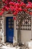 Chios ö, Pyrgi Royaltyfri Fotografi