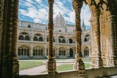 Chiosco del monastero Dos Jeronimos Immagini Stock