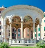 Chiosco della Musica (1929 av arkitekten Luigi Devoto och konstnären Royaltyfria Foton
