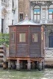Chiosco di legno Venezia Fotografia Stock Libera da Diritti