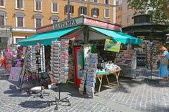 Chiosco a Roma immagine stock libera da diritti