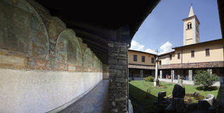 Chiostro a Dongo Royalty Free Stock Photo