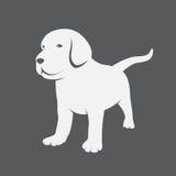 Chiots de Labrador illustration stock