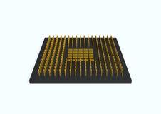 chip vektor illustrationer