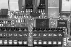 Chip av en dator Arkivfoto