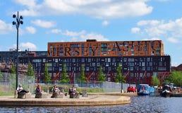 Chip Building Manchester Arkivbilder