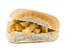 Chip Butty royalty free stock images