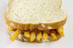 Chip Butty Royalty Free Stock Photography