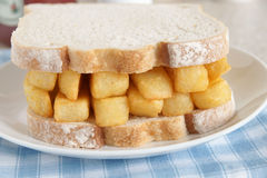 Chip Butty Stock Image