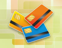 Chip card royalty illustrazione gratis