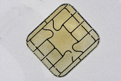 Chip Card Fotografia Stock