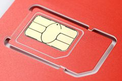 Chip card Royalty Free Stock Image
