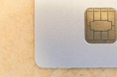 chip card elettronica Fotografia Stock Libera da Diritti