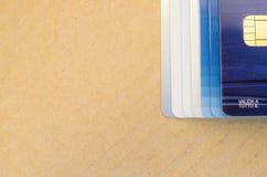 chip card elettroniche Immagini Stock