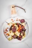 Chip casalinghi della verdura Immagini Stock Libere da Diritti