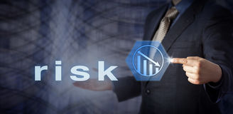 Chip Consultant Activating Risk Reduction blu immagini stock libere da diritti