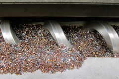 Chip conveyor Royalty Free Stock Image