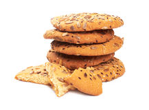Chip Cookie royalty-vrije stock foto's
