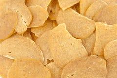 Chip crudi del gambero immagine stock
