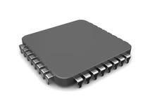 Chip 3d Lizenzfreies Stockbild
