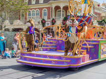 Chip and Dale on a float Stock Photography