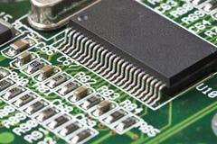 Chip de computador Fotografia de Stock Royalty Free