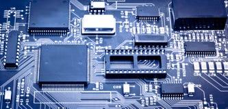 Chip de computador imagens de stock royalty free