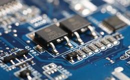 Chip de computador Imagem de Stock