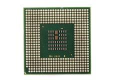 Chip de computador isolado Imagem de Stock Royalty Free