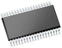 Chip de computador (microchip) Fotos de Stock Royalty Free
