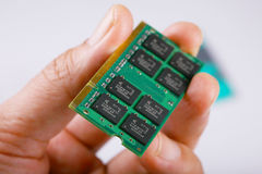Chip de memória imagens de stock