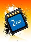 Chip de memória Imagens de Stock Royalty Free