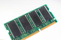 Chip de memória de RAM imagens de stock