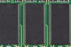 Chip de memoria Imagenes de archivo