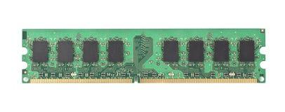 Chip de memoria del ordenador Foto de archivo