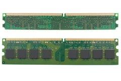 Chip de memoria del ordenador Foto de archivo libre de regalías