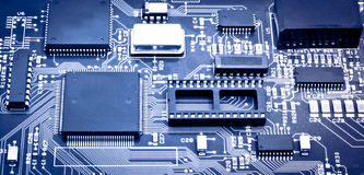Chip de ordenador Imágenes de archivo libres de regalías