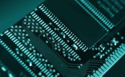 Chip de ordenador imagen de archivo libre de regalías