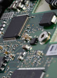 Chip de ordenador Fotografía de archivo libre de regalías