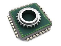 Chip de ordenador Foto de archivo